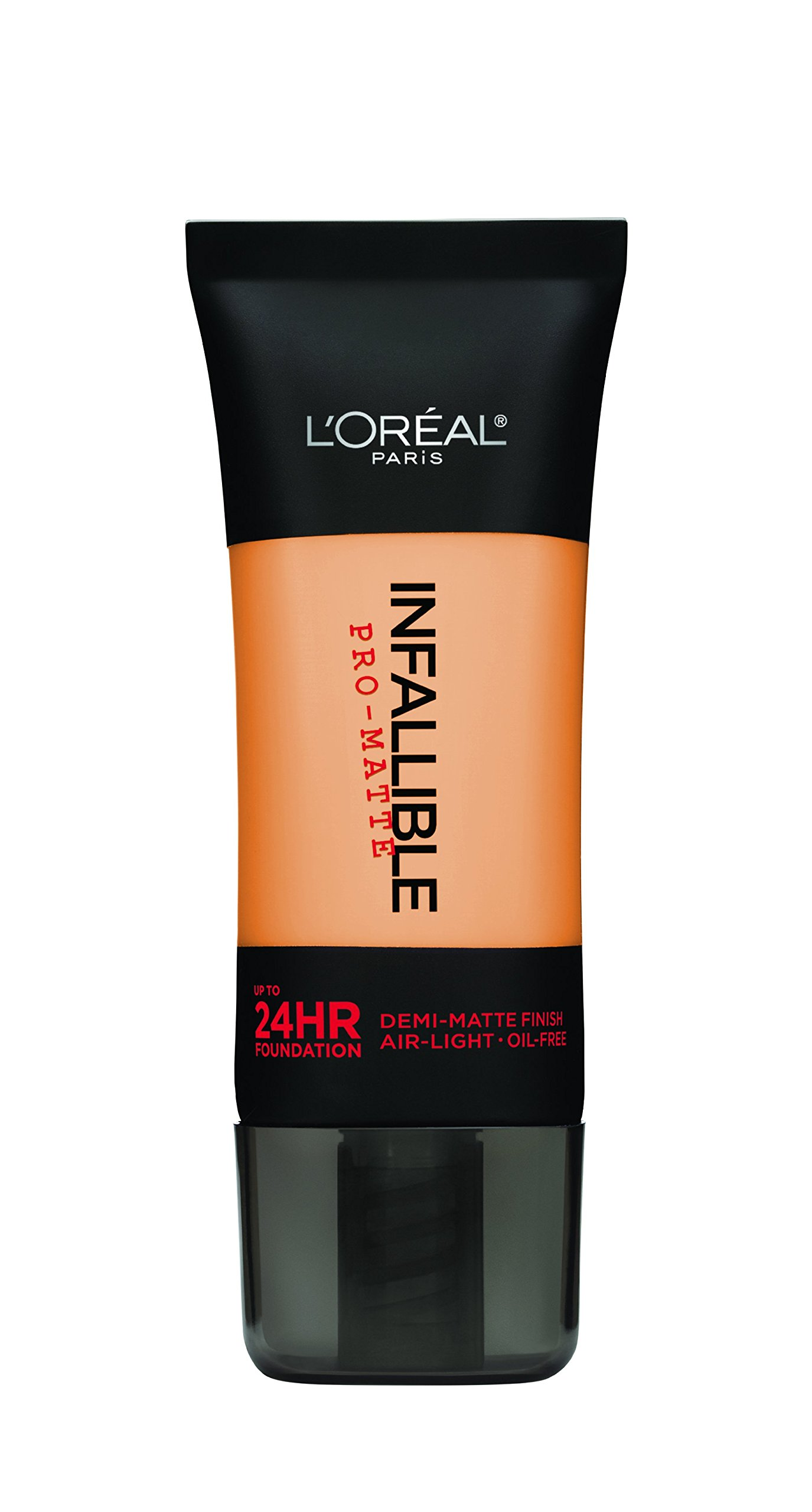 L'Oreal Paris Infallible Pro-Matte Foundation Makeup, 102 Shell Beige, 1 fl. oz.