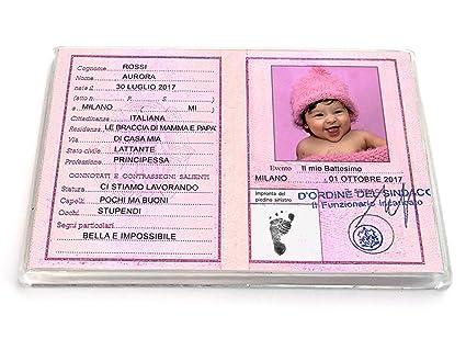 Bomboniere Di Carta Battesimo : Pezzi bomboniere battesimo compleanno bimba rosa magnete