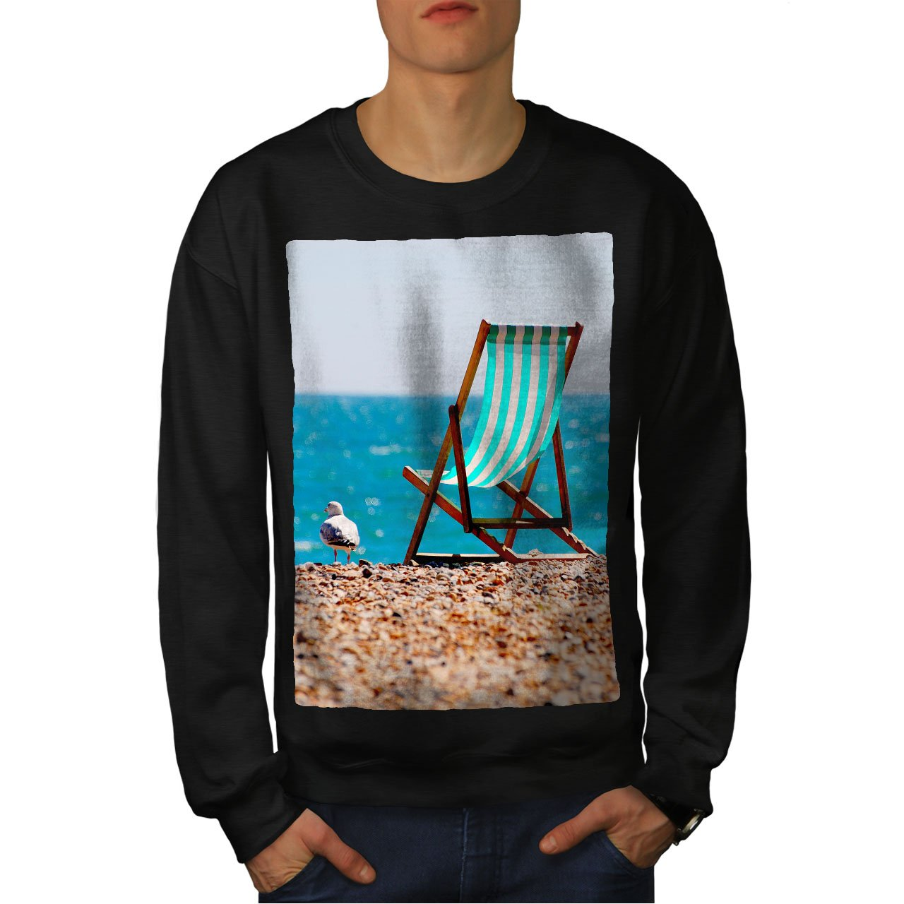 Artist Graphic Design Printed Tee Wellcoda Sublime Landscape Mens T-shirt