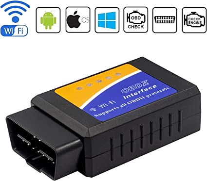 OBD2 Car WIFI Scanner Diagnostic Code Reader Tool for IOS /& Android /& Windows