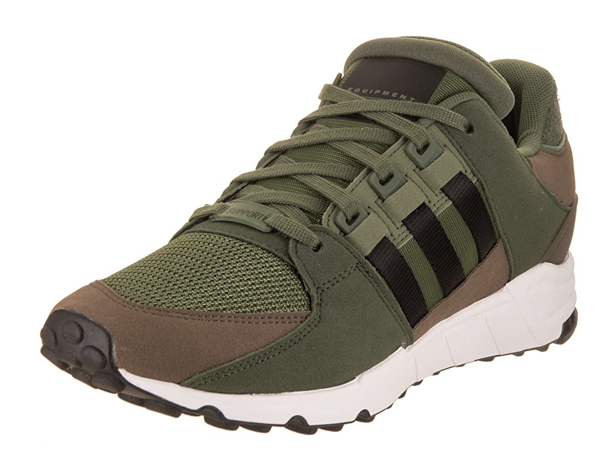 Green Adidas Originals Men's EQT Support Rf Fashion Sneaker
