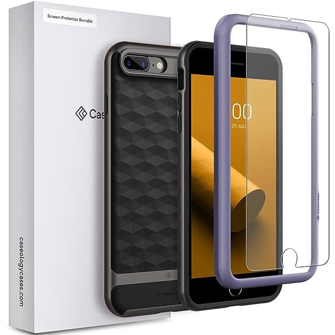 official photos d4160 fde65 Amazon.com: Caseology iPhone 8 Plus Parallax Case with Screen ...