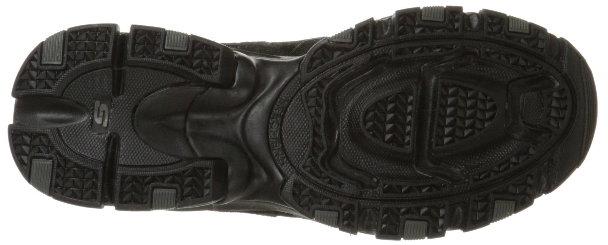 Skechers Sport Men's Vigor 2.0 Trait Memory Foam Sneaker, Black, 12 M US by Skechers (Image #3)