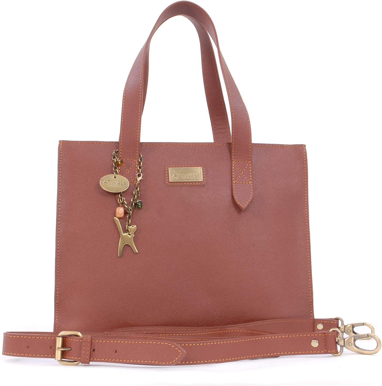 Cuir V/éritable BELLSTONE Sac /à Main//Sac port/é /épaule//Cabas Catwalk Collection Handbags Femme
