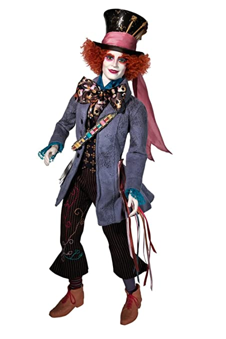 b0080c81bd79a Image Unavailable. Image not available for. Color  Barbie Tim Burton s  Alice In Wonderland Mad Hatter Doll
