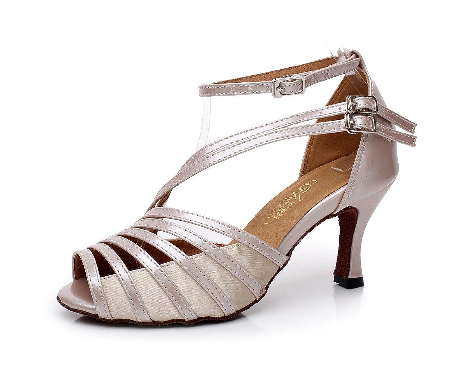 JSHOE Chaussures De Danse Salsa Latin PU B07G49BHMR PU Chaussures Chaussures Salsa/Tango/ Thé/Samba/ Moderne/Jazz Sandales Chaussures Talons Hauts,Beige-heeled6cm-UK6/EU39/Our40 - 49a227a - piero.space