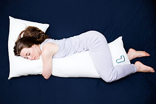 The snuggL Pillow - Total Body Pillow, Rated Best Pillow For Side Sleepers, Pregnancy Pillow, Hypoallergenic with Contoured Support System - best pregnancy body pillow