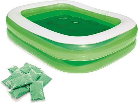 Piscina Hinchable Infantil Bestway Swim n Slime Rectangular ...