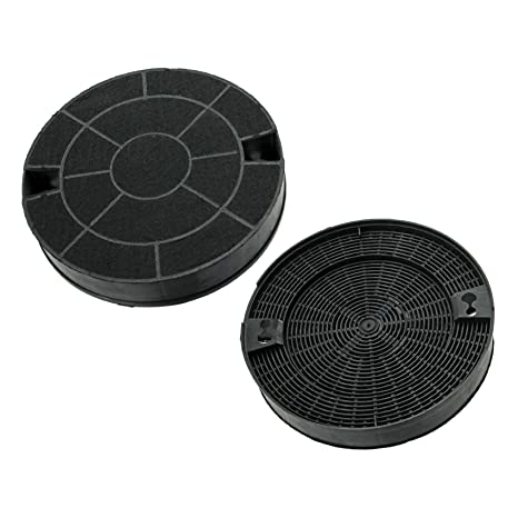 Ex-pro® di carbonio per IKEA-Filtro per cappa da cucina 2 pezzi ...