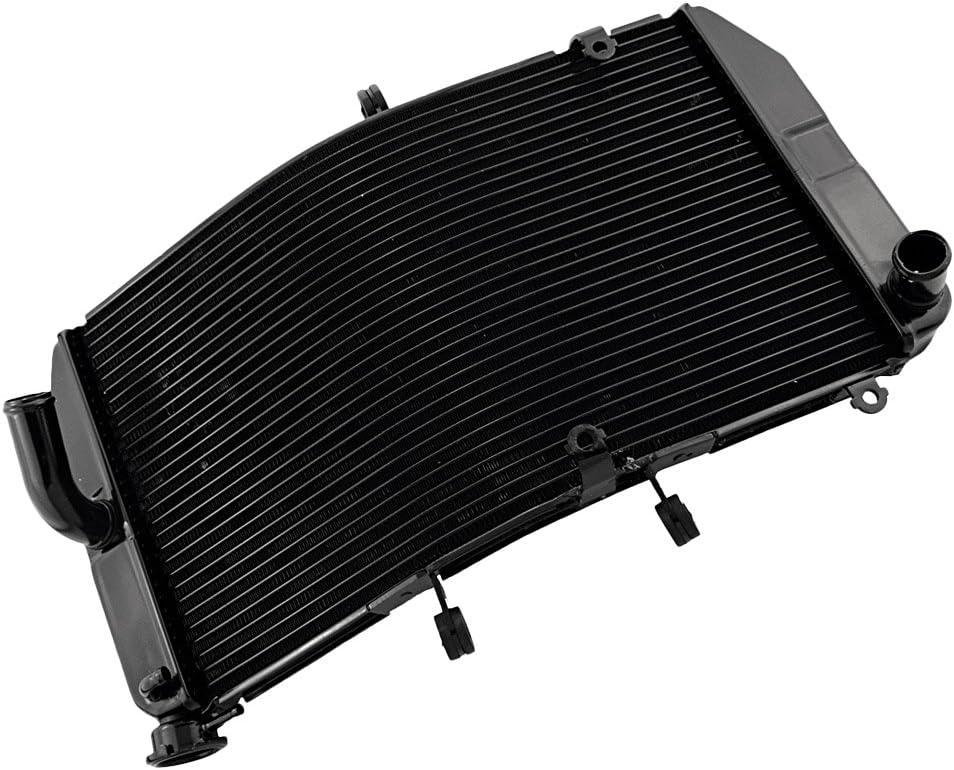 GZYF Aluminum Radiator for CBR600RR F5 2003 2004 2005 2006 03 04 05 06 BLACK