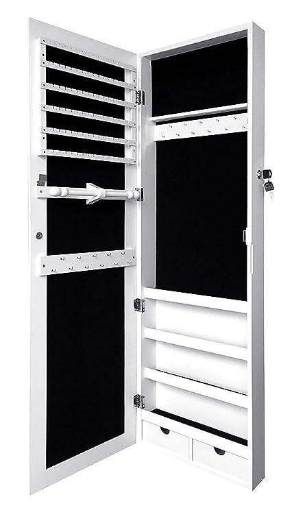 Sodynee con joyas para montaje en puerta de pared armario de joyería ...