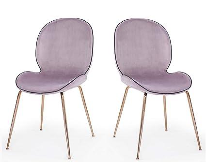 Amazoncom Limari Home Lim 74689z Windi Dining Chair Pink Chairs