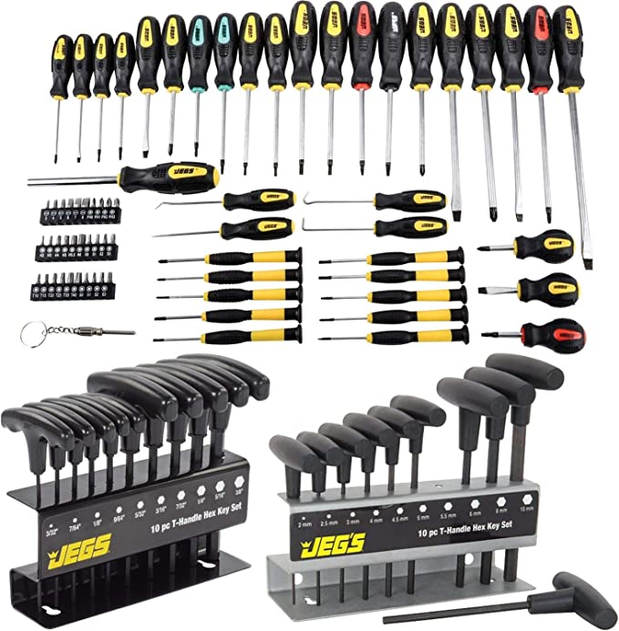 T Hex Set Allen Screwdriver Bit Metal Key Screw Steel 1.5-5.0 Tool Wrench U9T7