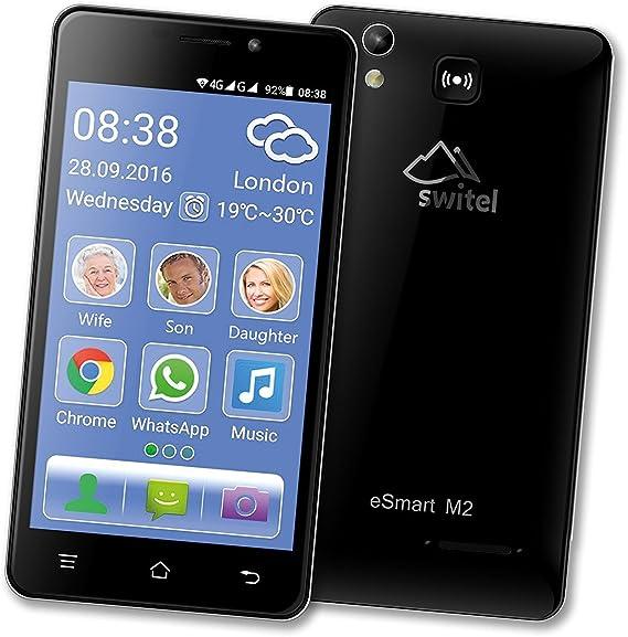 Móvil Smartphone para mayores con volumen y Suoneria amplificati ...