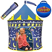 Deals on Kiddzery Castle Play Tent, Includes Free Kaleidoscope