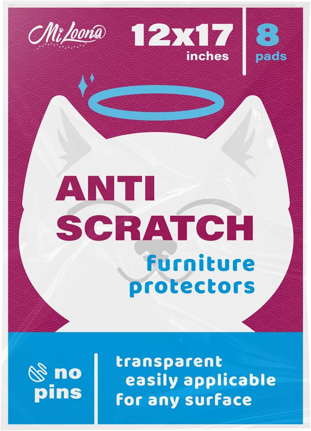 Cat Anti Scratch Furniture Protector - Couch Scratch Protector from Cats - Furniture Protection from Cat Scratching - Cat Couch Protectors for Furniture - Cat Training Tape - Cat Scratch Guard