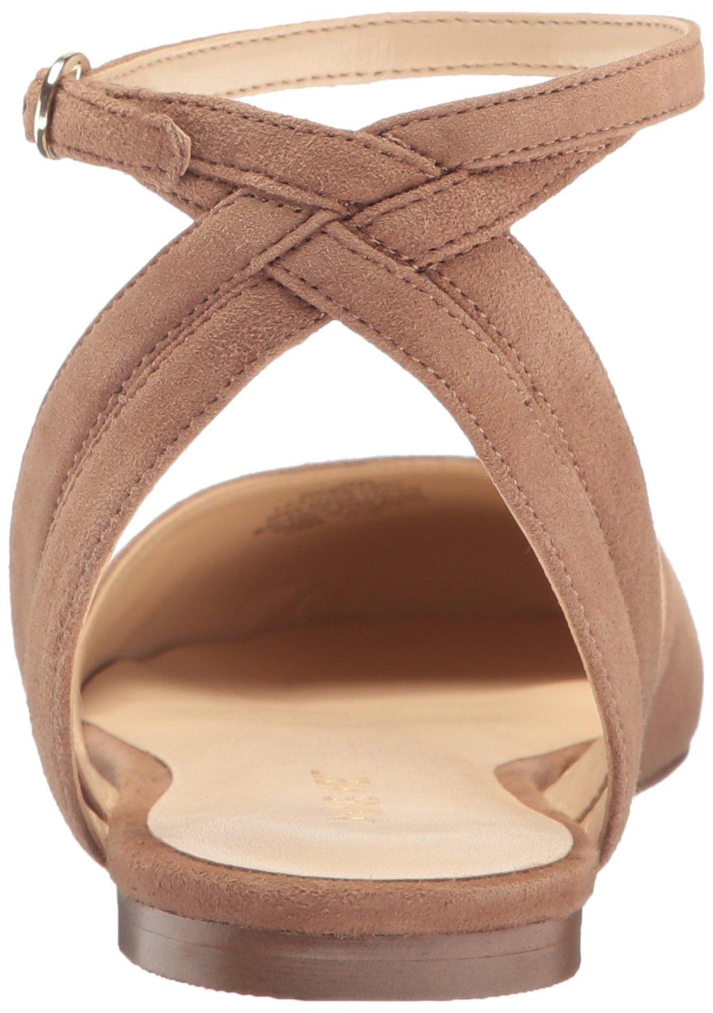 Nine West Women's Begany Suede Ballet Flat B01MSWV21K 8 B(M) US Natural