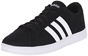 adidas NEO Men's Baseline Shoe,Black/White/White,7.5 M US