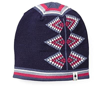 Amazon.com   SmartWool Women s Ski Jacquard Hat (Deep Navy Heather ... e3148dae1f