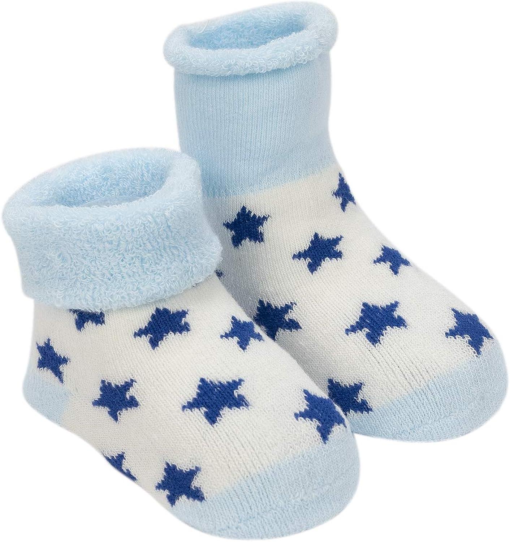 Adorel Calzini Invernali in Spugna Cotone per Bambino Confezione da 5