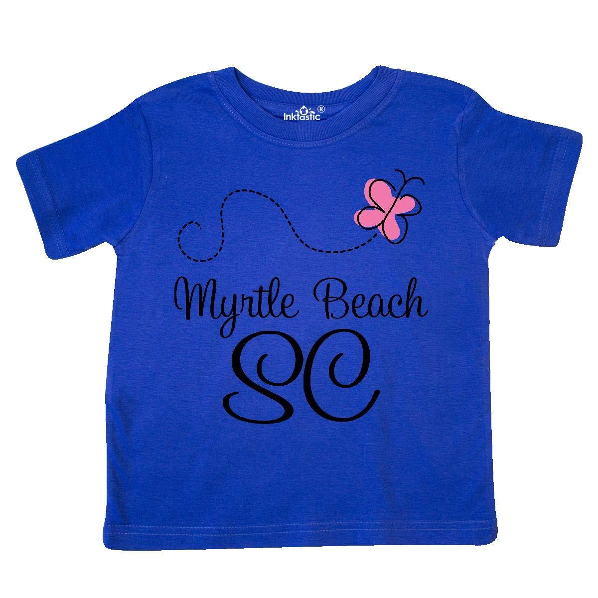 inktastic Myrtle Beach South Carolina Toddler T-Shirt