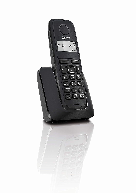 Gigaset A116 - Teléfono Inalámbrico, Agenda 50 Contactos: Amazon ...
