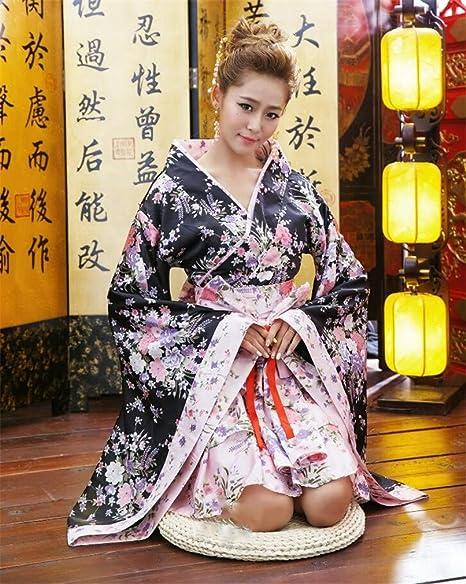 Cherry Blossom Festival Kimono Lolita Princess Animation  Maid Cosplay Costume
