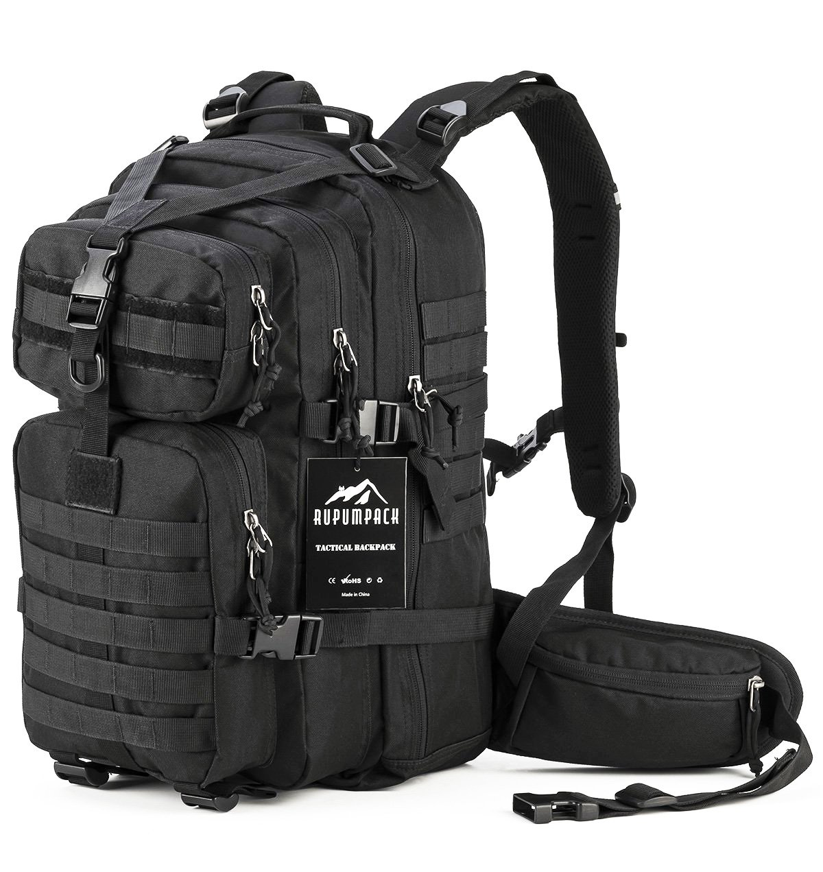 78699c895501 Amazon.com   RUPUMPACK Military Tactical Backpack Hydration Backpack ...