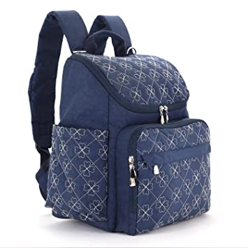designer backpack diaper bag q5o0  Diaper Bag Backpack With Baby Stroller Straps By HYBLOM, Stylish Travel  Designer And Organizer For