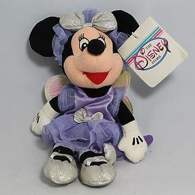 Disney Bean Bag Plush Minnie Mouse Sugar Plum: Toys & Games