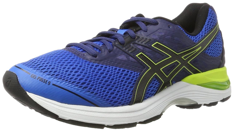 Asics Gel-Pulse 9, Zapatillas de Running para Hombre 40.5 EU|Azul (Directoire Blue/Black/Indigo Blue)