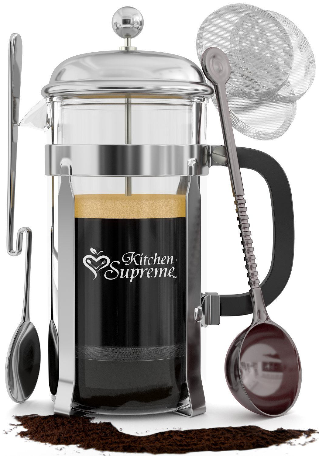 French Press Coffee & Tea Maker Complete Bundle | 8-Cups 34 Oz | Best Coffee .. 18