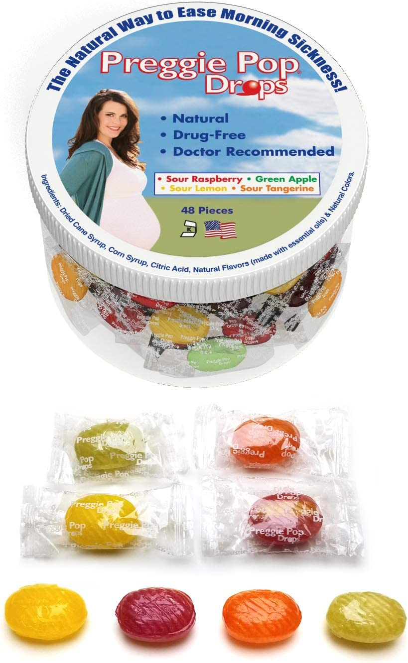 Amazon Com Three Lollies Value Preggie Pop Drops Assorted For Morning Sickness Relief 48 Count Health Personal Care