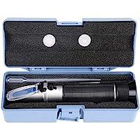 Alcohol Refractometer, Professional Handheld Alcohol 0-80% Test Refractometer Wine Tester Meter Measure Instrument