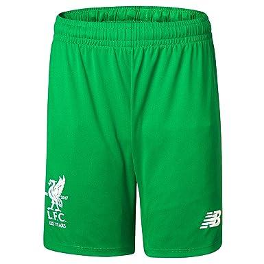 c75f60b2e New Balance Liverpool Home Goalkeeper Shorts 2017-18 - Kids  Amazon.co.uk   Clothing