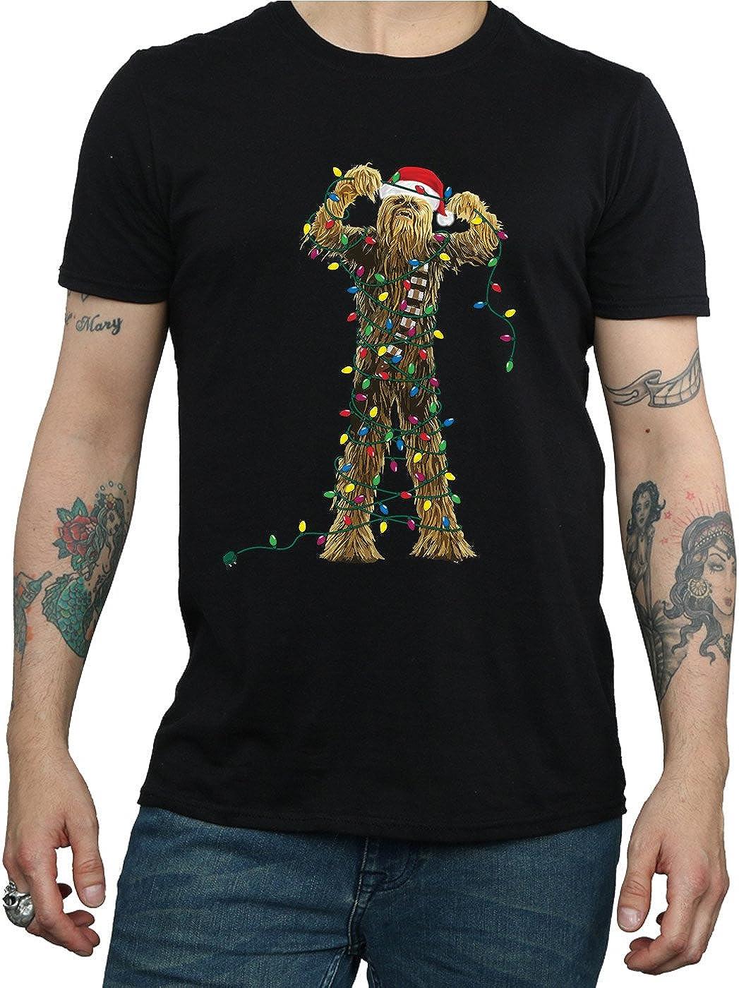 Star Wars Mens Light Show T-Shirt