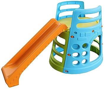 Cool Tower Gym Kinderspielturm Kinder Spielturm Rutschen und Klettern  WH15