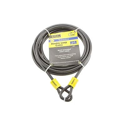 Sterling 850C Câble de sécurité avec gaine en vinyle et double boucle 8mm x 5m