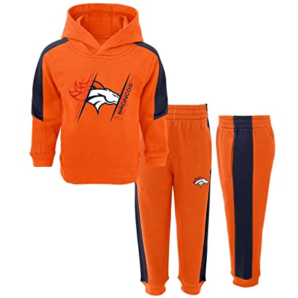 Image Unavailable. Image not available for. Color  Outerstuff Denver Broncos  NFL Toddler Fullback Fleece Hoodie ... b09c1f94d
