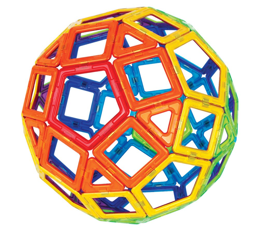 Magformers Basic Set (62-Pieces)  Magnetic Building Blocks, Educational Magnetic Tiles, Magnetic Building STEM Toy by Magformers (Image #3)