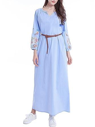 Musulmane robe de mariée caftan kaftan jalabiya femmes musulmanes vêtements    Islam longue jupe robe 9174fe940e4