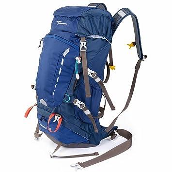 Timberbrother Mochila de Senderismo Impermeable mochila de montaña para Acampadas, Viajes, Escalada y Trekking (Azul - 40L): Amazon.es: Deportes y aire ...