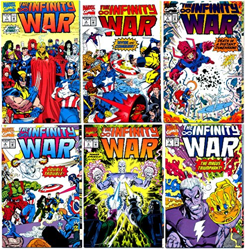Infinity War #1-6 Complete Limited Series (Marvel Comics 1992 - 6 Comics)]()