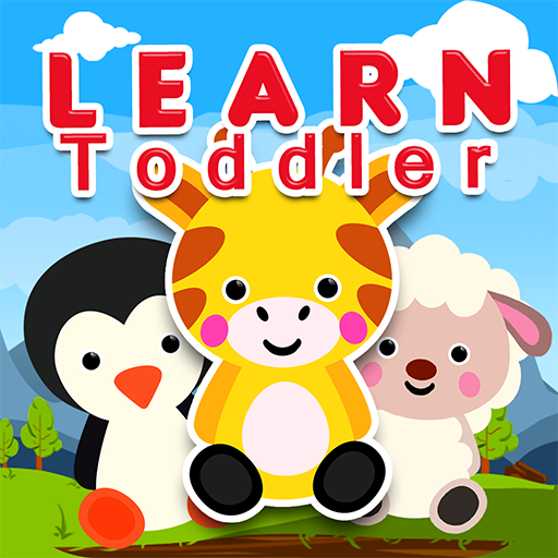 123 Animals - Toddler Basic Learning: Identify Alphabets, Shapes, Numbers & Colors