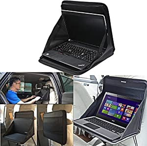SZSS-CAR Foldable Travel Car Laptop Holder Tray Bag Mount Back Seat Auto Food Work Table Organizer for BMW VW Hyundai Kia
