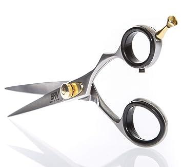 Facial Hair Scissors For Men | Mustache & Beard Trimming Scissors | 5.5 Inches | 100% Stainless Steel L Sharp & Precise Grooming | Razor Edge Barber Scissor |... by Brv Men