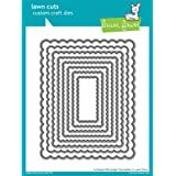 Lawn Fawn Lawn Cuts Die Scalloped Rectangle Stackables
