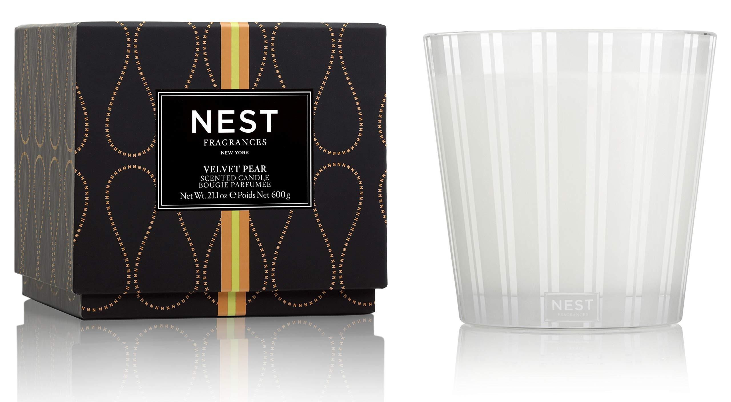 NEST Fragrances Velvet Pear 3-Wick Candle