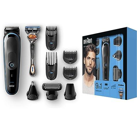 BaByliss X10 - Cortapelos para cara, cabello y cuerpo, con ...