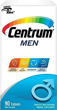 Centrum Men (90 Count) Multivitamin/Multimineral Supplement Tablet, Vitamin B